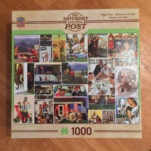 Master Pieces Saturday Evening Post puzzle